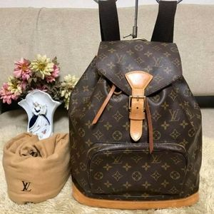 LV BACKPACK MONTSOURIS GM